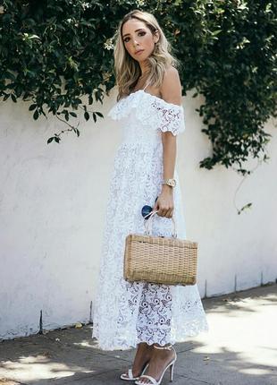 Кружевное платье. h&m.2 фото