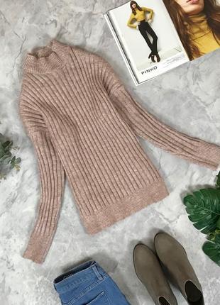 Нюдовый свитер-гольф  sh1911146  primark