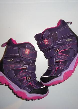 Суперские термо -ботинки cortina на мембране deltex. демисезон. стелька 19 см