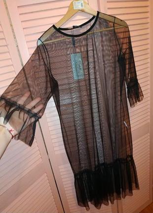 Сукня-сітка