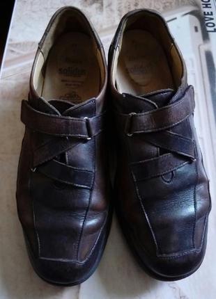 Суперские туфли из натуральной кожи