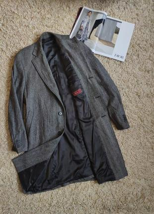Пальто wool coat tesuto ermenegildo zegna brioni
