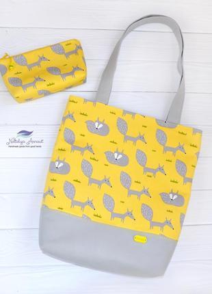 Текстильные сумки и косметички ручной работы, hand made