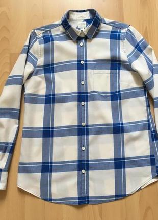 Фланеливая рубашка в клетку j crew3 фото