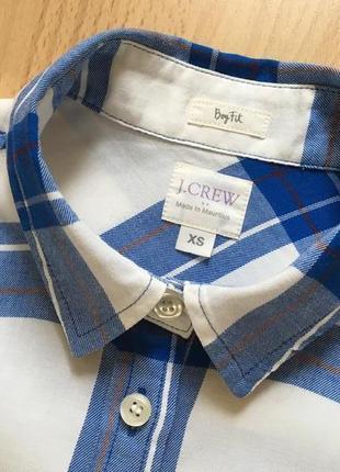 Фланеливая рубашка в клетку j crew4 фото
