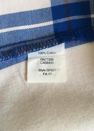 Фланеливая рубашка в клетку j crew5 фото