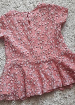 Кофта  блузка с баской3