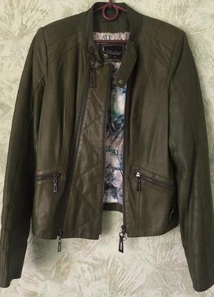 Косуха кожаная куртка