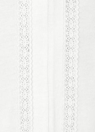 Блузка с длинным рукавом из органического хлопка с вышивкой от тсм (германия). оригинал!4