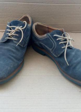 Стильні замшеві туфлі