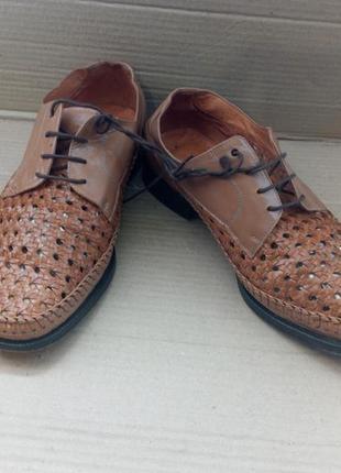 Повністью шкіряні туфлі