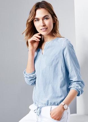 Нежная и стильная блузка рубашка тсм tchibo германия.оригинал!