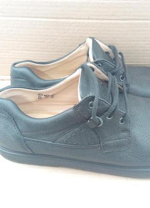 Фірмові шкіряні ортопедичні туфлі