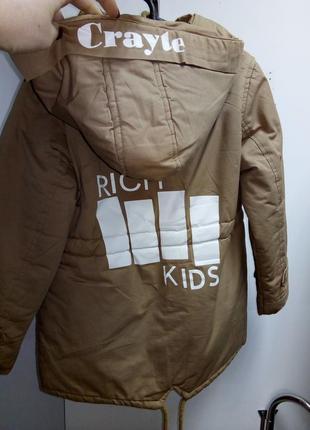 Куртка демисезонная3 фото