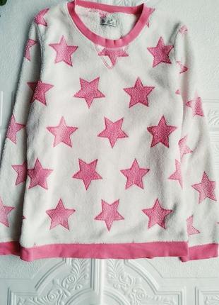 Махровая плюшевая пижама love to lounge, костюм с брюками3 фото