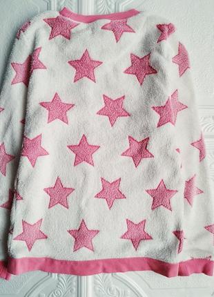 Махровая плюшевая пижама love to lounge, костюм с брюками5 фото