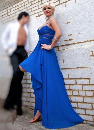 Платье вечернее выпускное длинное