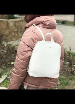 Городской рюкзак david jones 5830-3t белый