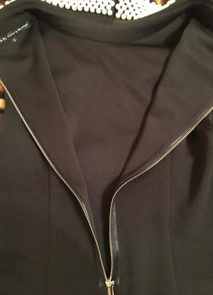Короткое платье с отделкой от victoria beckham5 фото