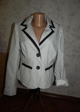 Dorothy perkins пиджак жакет летний лёгкий на подкладке р14