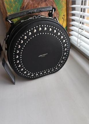 Стильная круглая сумочка