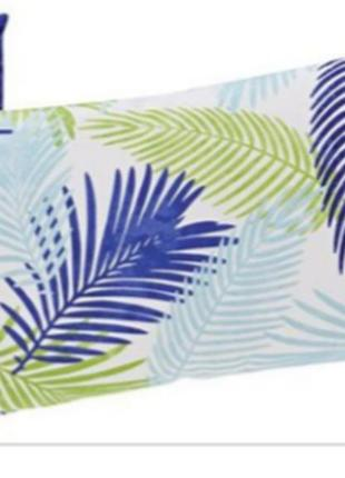 Ультрамодный комплект наволочек 40х80 принт пальмовая ветвь