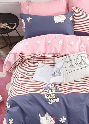 Подростковое постельное белье тм вилюта, сатин-твил