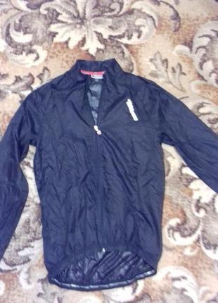 Тонюсенькая ветровка thoemus дождевик куртка для вело спорта