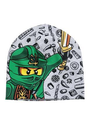 Модная шапка h&m ниндзяго на объём головы 50-51