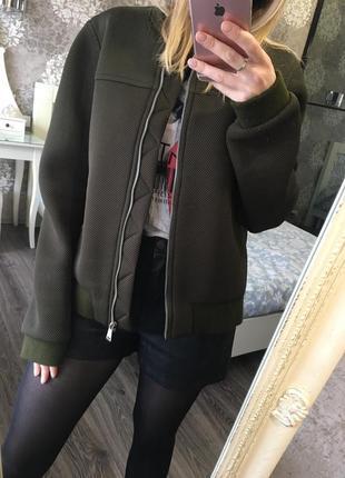 Куртка в сеточку