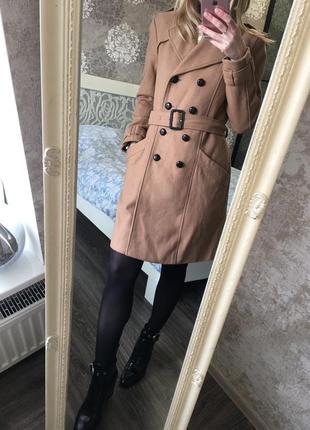 Шерстяное пальто 60 % шерсть