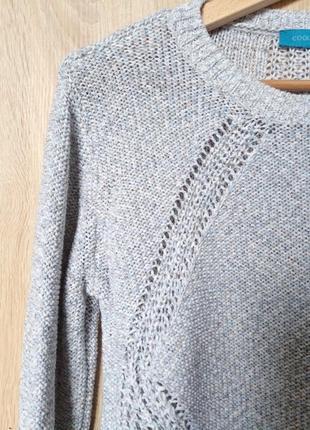 Нежный свитерок меланж cool code, р.382 фото