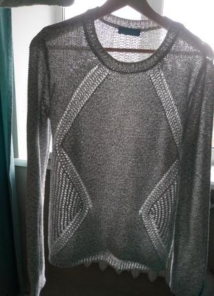 Нежный свитерок меланж cool code, р.384 фото