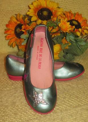 Фирменные ,красивые туфли для принцессы - испания