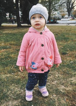 Курточка на девочку 12-18 мес.
