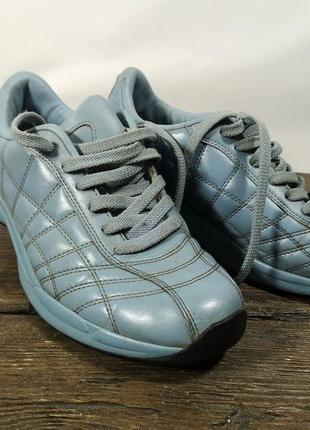 Кроссовки для похудения chung shi, голубые, кожзам, отл сост!
