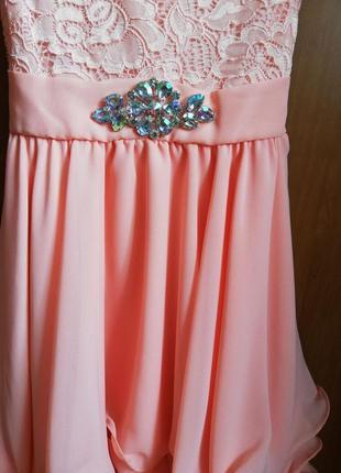 Нарядное платье+ болеро на праздник, выпускной2 фото