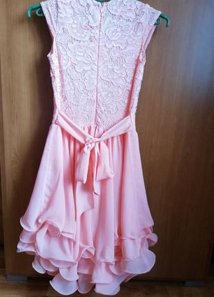 Нарядное платье+ болеро на праздник, выпускной4 фото