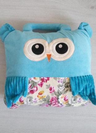 Одеяло / плед детский голубой для путешествий