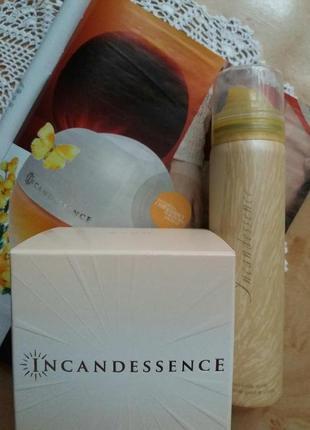 Набор:парфумна вода incandessence (50 мл)+парф. дезолорант спрей