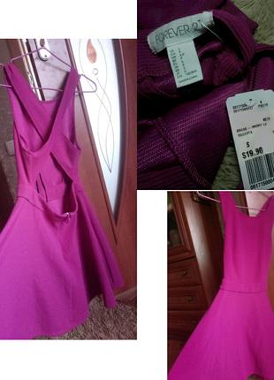 Платье с открытой спиной forever 21