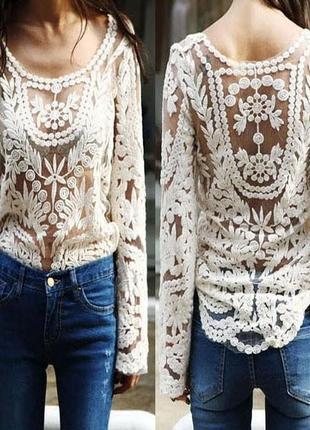 Обалденная вышитая блузка select