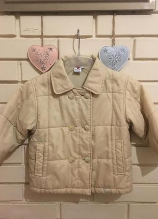 Весенняя курточка baby club 86 см