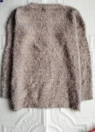 Вязаный свитер-травка atmosphere, рукав 3/43 фото