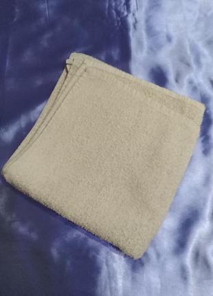 Махровое  полотенце б/у,  х/б