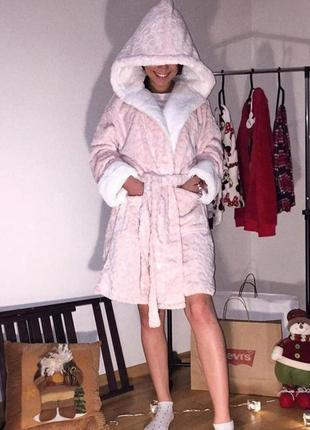 Жіночий халат приємний до тіла luxury robe love to lounge
