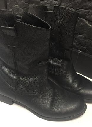 Кожаные полусапожки/ ботинки  весна/осень