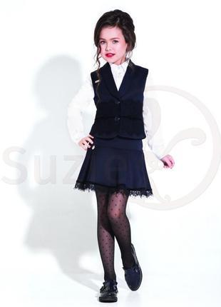 Школьная юбка агнесса для девочки тм сьюзи р.122-140