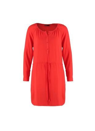 Красное платье gap