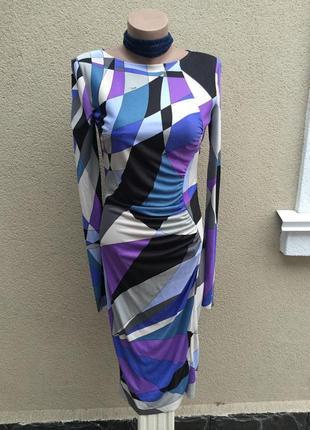 Красивое платье,люкс бренд,оригинал,emilio pucci ,италия